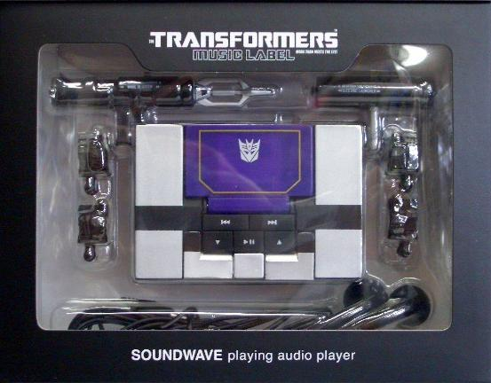 Transformers Soundwave Mp3 Player Review By Tom (Webmaster