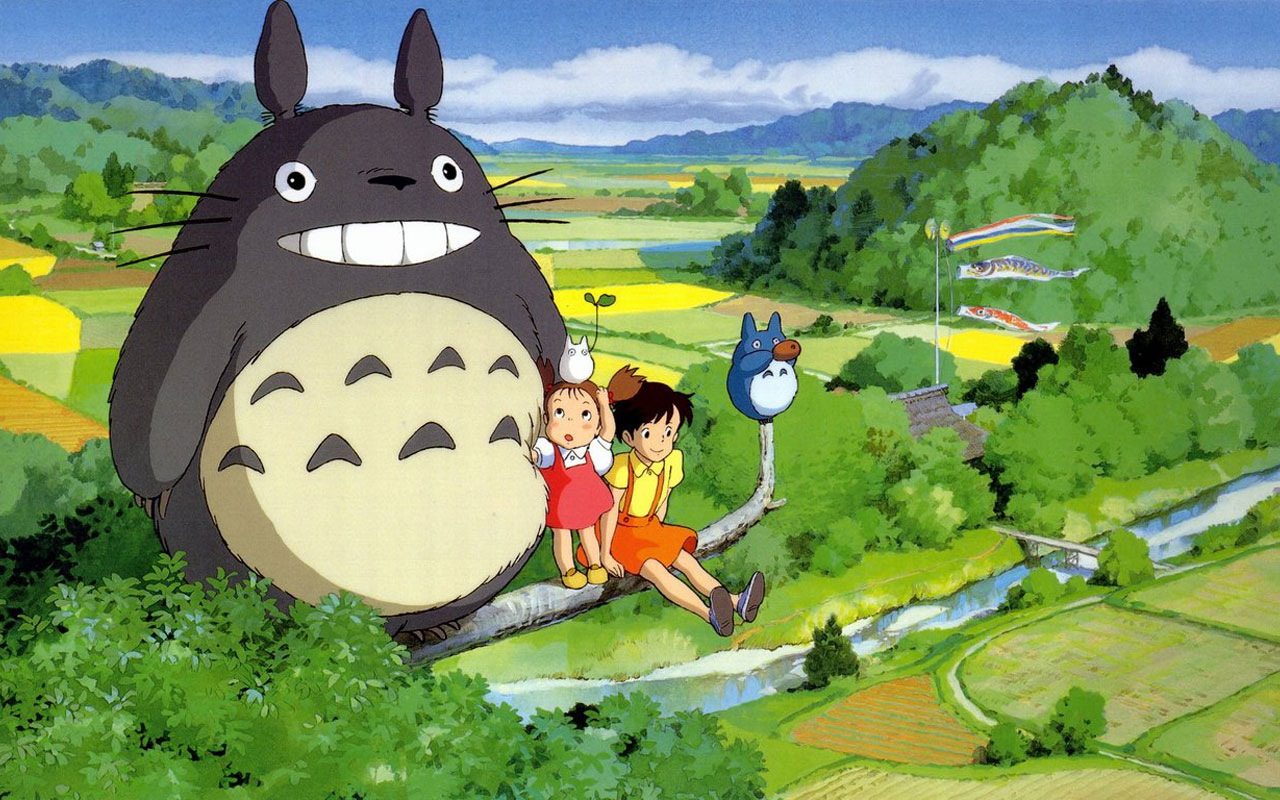anime My neighbor totoro