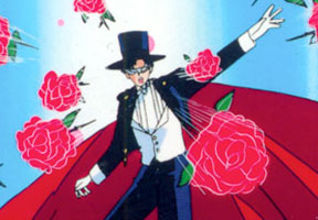 Sailor Moon Tuxedo Mask Rose